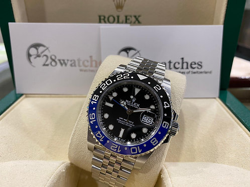 Pre-Owned Rolex GMT-Master II 126710BLNR 二手,五年保養,亂碼,內影,齊格,藍光 - 尖沙咀店