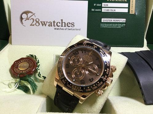 Pre-Owned Rolex Daytona 116515LN 亂碼,停產,配 Rubber B - 銅鑼灣店