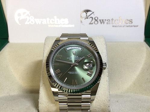 Brand new Rolex Day-Date 228239-0033 全新 - 銅鑼灣店