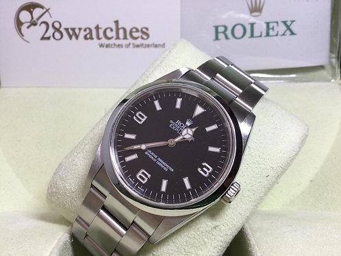 Pre-Owned Rolex Explorer 114270 二手,停產,齊格,Y頭,上行紙  - 銅鑼灣店