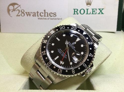 Pre-Owned Rolex GMT-Master 16700 二手,行貨,停產, U頭- 銅鑼灣店