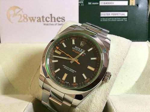 Pre-Owned Rolex Milgauss 116400GV 二手行貨  - 銅鑼灣店
