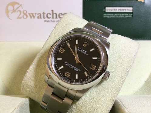 Pre-Owned Rolex Oyster Perpetual 177200 BLK 二手,停產   - 銅鑼灣店