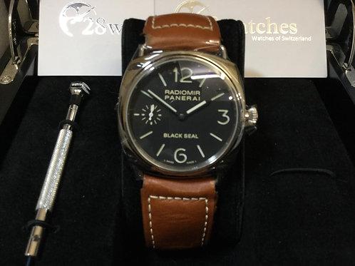【銅鑼灣店】 Panerai Radiomir Black Seal PAM00183