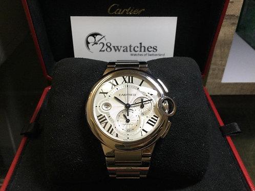NOS Cartier Ballon Bleu 44mm W6920002 未用品,行貨,停產,計時- 銅鑼灣店