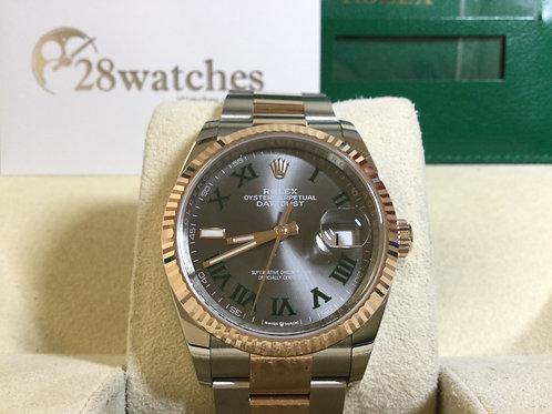 Brand new Rolex Datejust 126331 全新,溫布頓面  - 銅鑼灣店