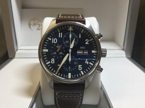 Pre-Owned  IWC Pilot Chronograph  IW377714 行貨 保養中 - 銅鑼灣店