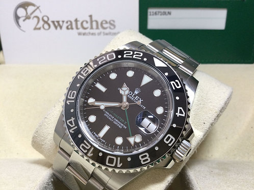 Pre-Owned Rolex GMT-Master II 116710LN 二手 - 銅鑼灣店