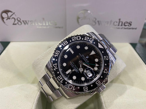 Pre-Owned Rolex GMT-Master II 116710LN 二手行貨,AD發票,亂碼,內影,停產,藍光 - 尖沙咀店