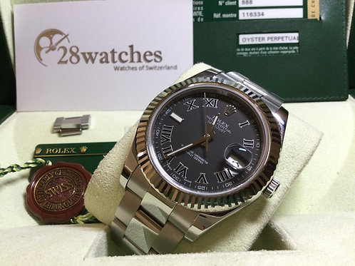 Pre-Owned Rolex Datejust 116334 二手行貨  - 銅鑼灣店