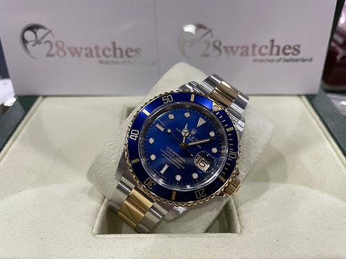 Pre-Owned Rolex Submariner Date 16613 二手,停產,Y頭,平頭4- 尖沙咀店
