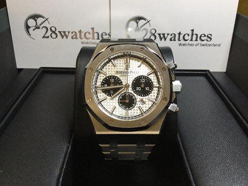Brand new Audemars Piguet  Royal Oak Chronograph 26331ST 全新- 銅鑼灣店