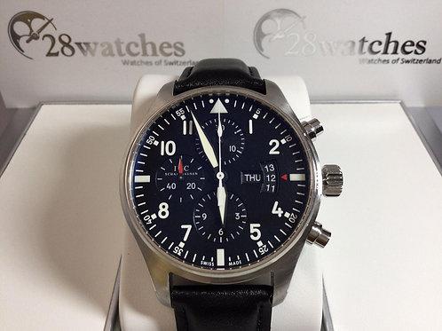 Pre-Owned IWC Pilot Chronograph IW377701 二手 行貨 - 銅鑼灣店
