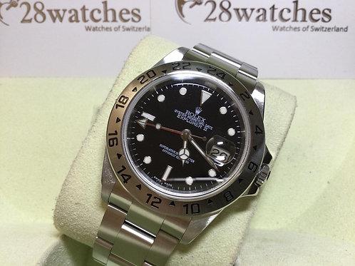 Pre-Owned Rolex Explorer II 16570 BLK 二手,淨錶 - 銅鑼灣店