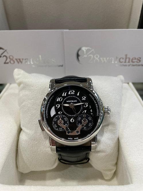 Pre-Owned Montblanc Nicolas Rieussec 106488 二手,淨錶,全自動,動力儲備72小時 - 尖沙咀店