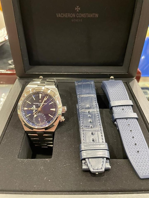 Pre-Owned Vacheron Constantin Overseas Dual Time 7900V 行貨 齊格 兩地時間 齊配件 三條錶帶 -尖沙咀店