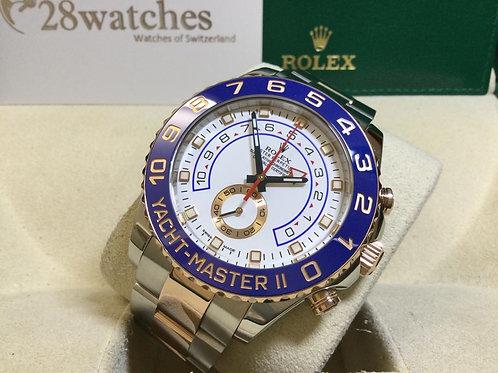 Pre-Owned Rolex Yacht-Master II 116681 二手行貨  - 銅鑼灣店