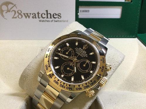 Pre-Owned Rolex Daytona 116503 BLK 二手 - 銅鑼灣店