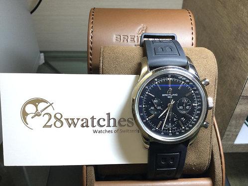 Pre-Owned Breitling Transocean Chronograph AB015212-BA99 五年保養   - 銅鑼灣店