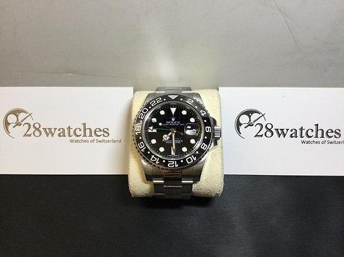 Pre-Owned Rolex GMT-Master II 116710LN 二手,淨錶 - 銅鑼灣店