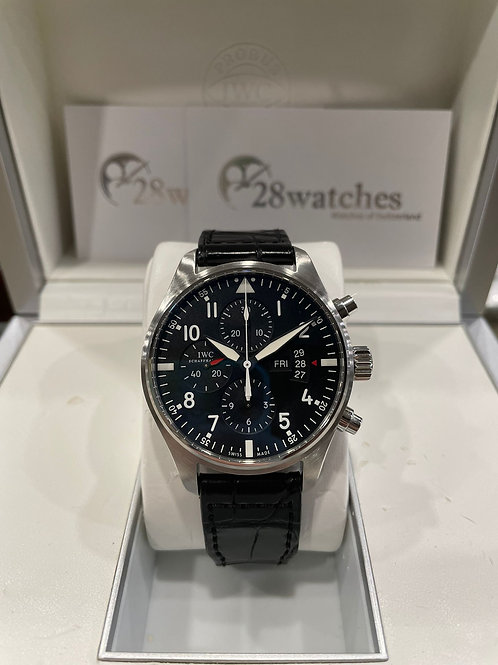 Pre-Owned IWC Pilot Chronograph IW377701 二手 - 尖沙咀店