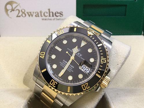 Pre-Owned Rolex Submariner Date 126613LN 二手行貨,AD發票,新卡,五年保養,齊格,藍光  - 銅鑼灣店