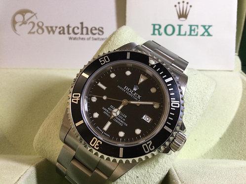 Pre-Owned Rolex Sea-Dweller 4000 16600 二手行貨,停產,齊工具  - 銅鑼灣店
