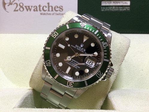 Pre-Owned Rolex Submariner Date 16610LV 二手行貨,內影,停產 - 銅鑼灣店