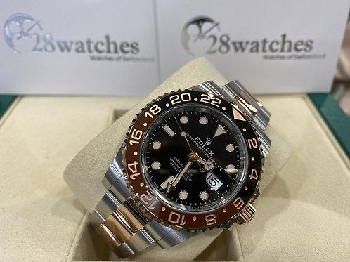 NOS Rolex GMT-Master II 126711CHNR 未用品,行貨,五年保養,亂碼,內影,齊格,藍光,未改帶,齊吊牌 - 尖沙咀店