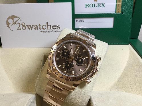 二手 Rolex Daytona 116505 Cho 「保養中」- 銅鑼灣店