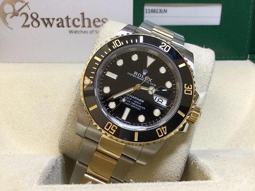 Pre-Owned Rolex Submariner Date 116613LN 二手行貨,五年保養,亂碼,內影,齊格,藍光  - 銅鑼灣店
