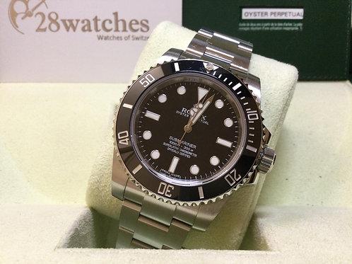 Pre-Owned Rolex Submariner 114060 二手行貨,亂碼,停產,齊格,藍光  - 銅鑼灣店