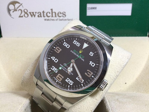 Pre-Owned Rolex Air King 116900 二手行貨 AD發票 - 銅鑼灣店