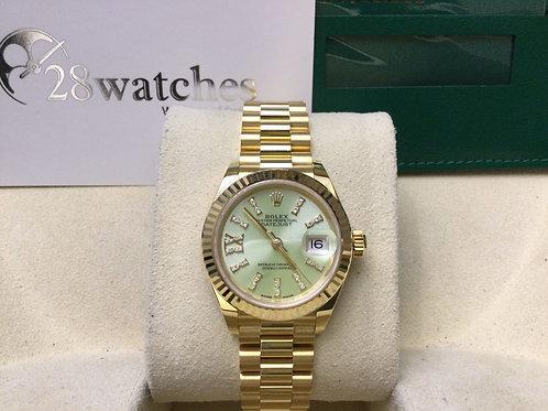 Brand new Rolex Lady-Datejust 279178 全新 停產面 新機芯 定價$237,500 - 銅鑼灣店