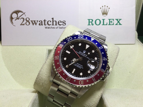 Pre-Owned Rolex GMT-Master 16700 二手行貨,停產,T25面,字變黃  - 銅鑼灣店