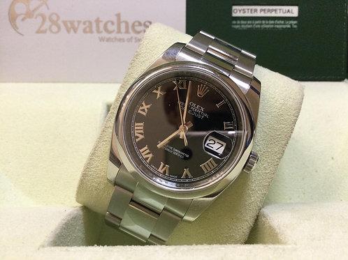 Pre-Owned Rolex Datejust 116200 二手,內影,停產,齊格,亂碼 - 銅鑼灣店