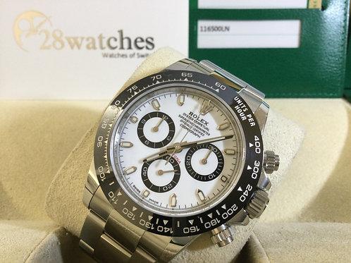 Pre-Owned Rolex Daytona 116500LN 二手行貨,AD發票  - 銅鑼灣店