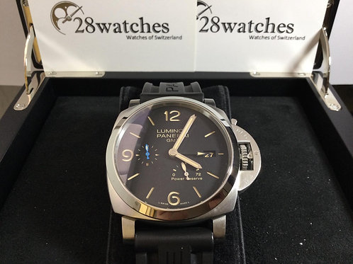 Pre-Owned Panerai Luminor 1950 3 Days GMT Power Reserve Automatic PAM01321 二手 -