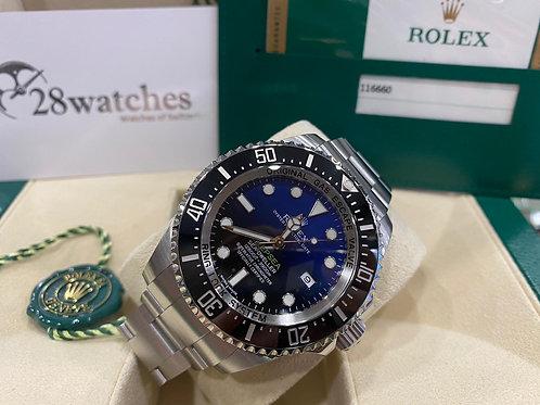 【尖沙咀店】二手 Rolex Deepsea 116660「行貨」「五年保養」「亂碼」「內影」「齊格」「藍光」