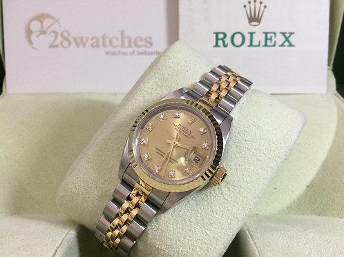 Pre-Owned Rolex Datejust 69173 二手行貨,AD發票 - 銅鑼灣店