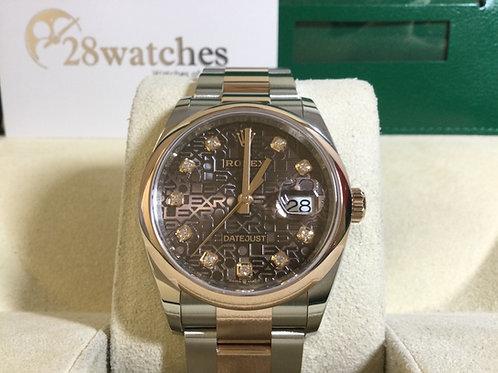 Brand new Rolex Datejust 126201 全新 - 銅鑼灣店