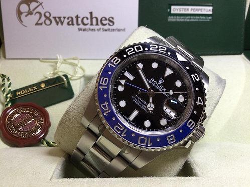 Pre-Owned Rolex GMT-Master II 116710BLNR 二手,行貨 - 銅鑼灣店