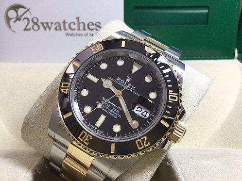 Pre-Owned Rolex Submariner Date 126613LN 二手,新保卡,新機芯,亂碼,藍光  - 銅鑼灣店