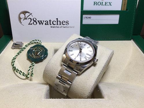 Pre-Owned Rolex Datejust 178240 二手,部份膠紙,內影 - 銅鑼灣店