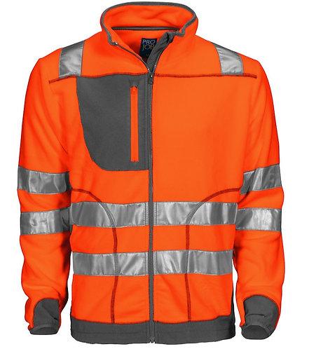 Projob Warnschutzfleece Jacke