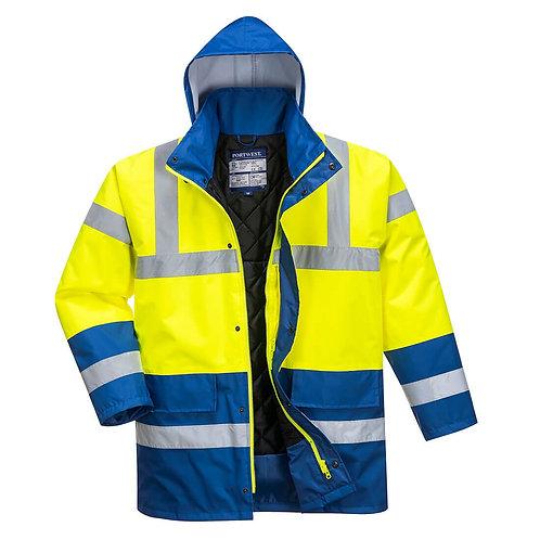 PW Warnschutz Winterjacke Kontrast
