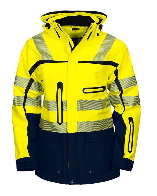 Projob Warnschutz Regenjacke