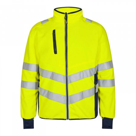 Engel Warnschutz Fleecejacke Safety