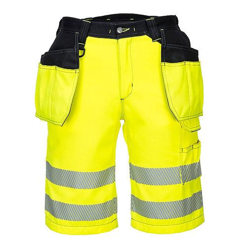 PW Warnschutz Shorts mit Hängetaschen