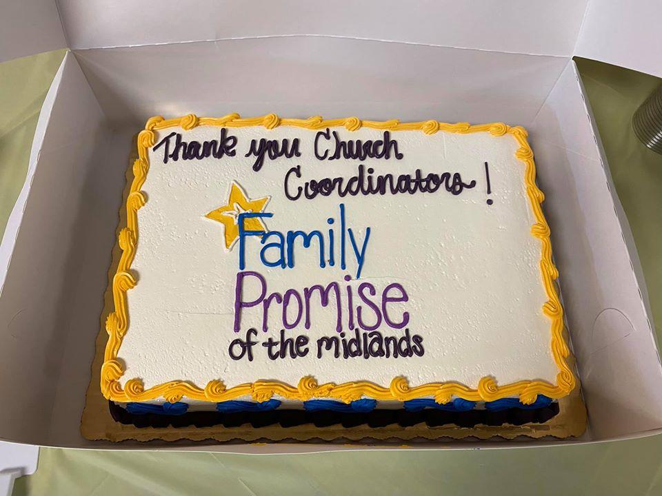 Thank you, church coordinators!